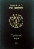 Passport cover of Madagascar