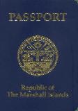 Passport cover of Marshall Islands