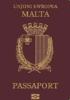 Passport cover of Malta MOST POWERFUL PASSPORT RANK