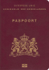 Passport cover of Netherlands