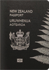 Passport cover of New Zealand
