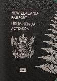 Passport cover of New Zealand