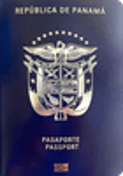 Passport cover of Panama