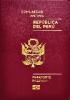 Passport cover of Peru MOST POWERFUL PASSPORT RANK