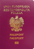 Passport cover of Poland