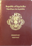 Passport cover of Seychelles