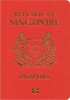 Passport cover of Singapore