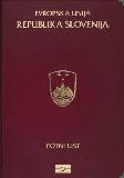 Passport cover of Slovenia