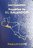 Passport cover of El Salvador