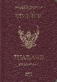 Passport cover of Thailand