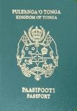Passport cover of Tonga