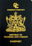 Passport cover of Trinidad and Tobago