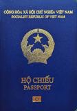 Passport cover of Viet Nam