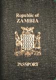 Passport cover of Zambia