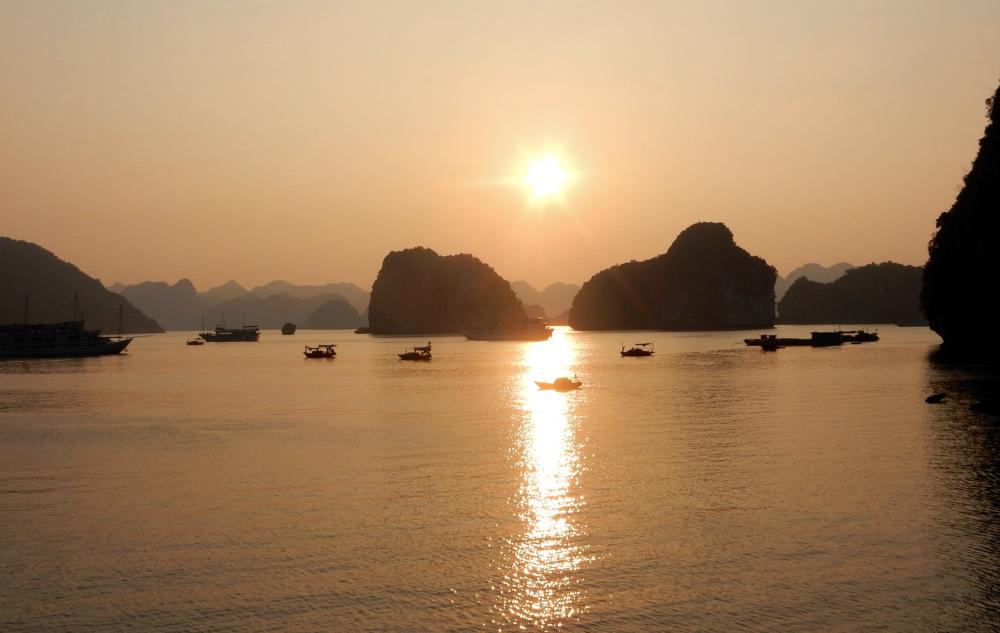 Cruising Ha Long Bay, Vietnam