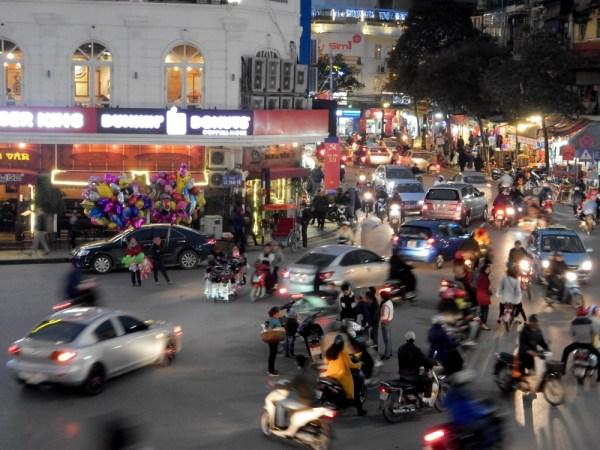 9 Hanoi Intersection