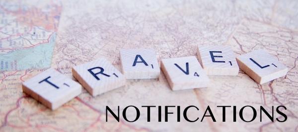 Travel Notifications