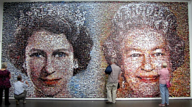 Queen Mosaic