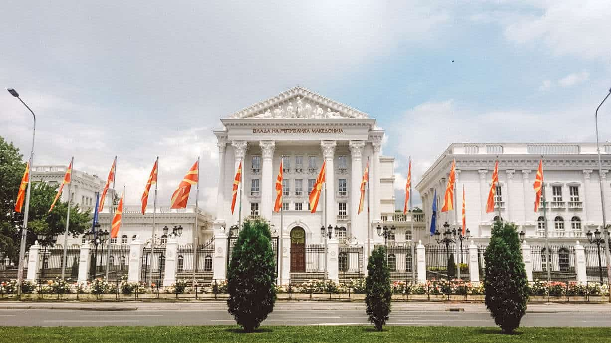 Government house Macedonia