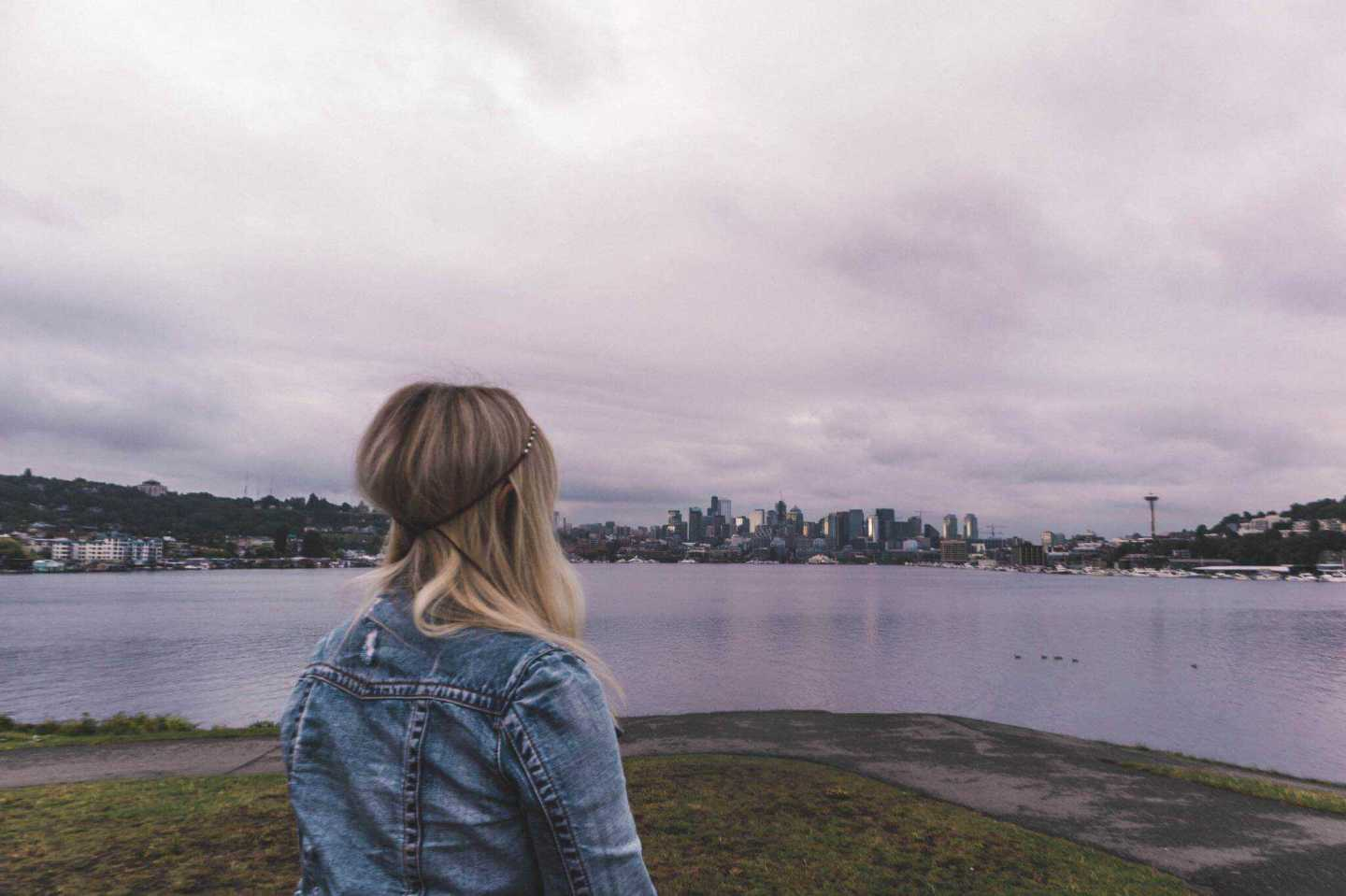 Views of the Seattle Skyline from gas works park