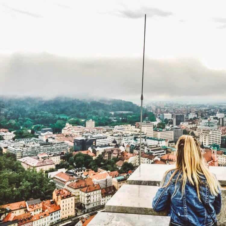 Overlooking Ljubljana