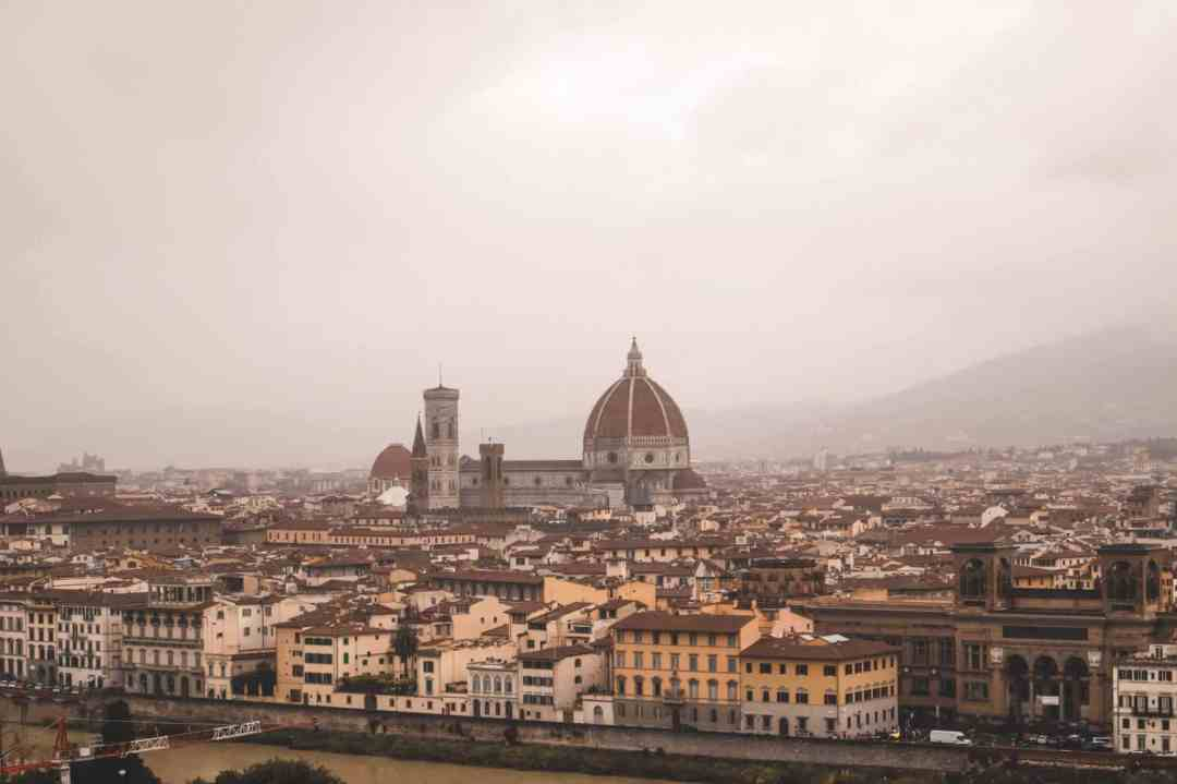 Views from Piazza Michelangelo - Florence