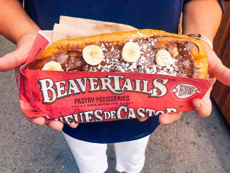 beaver tail dessert