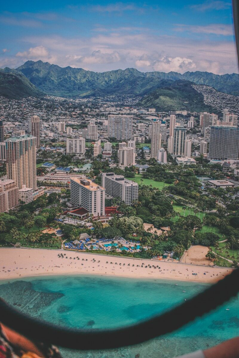 Cityscape of Hawaii