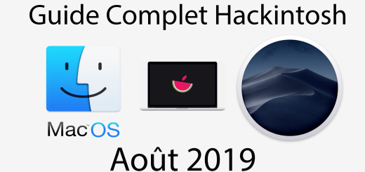 guide hackintosh août 2019