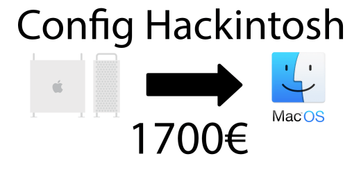 config hackintosh 1700 euros
