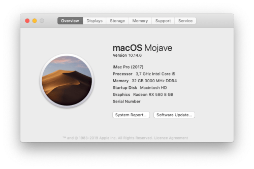 mise à jour mojave hackintosh