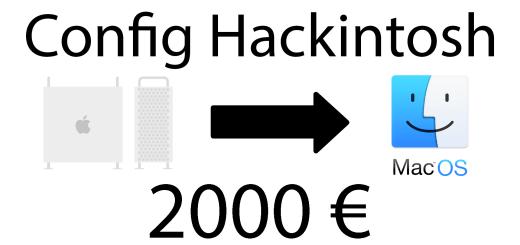 hackintosh 2000 euros