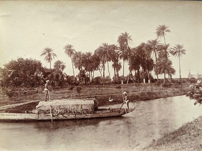 Antique Photo Madras Cooum River 1880