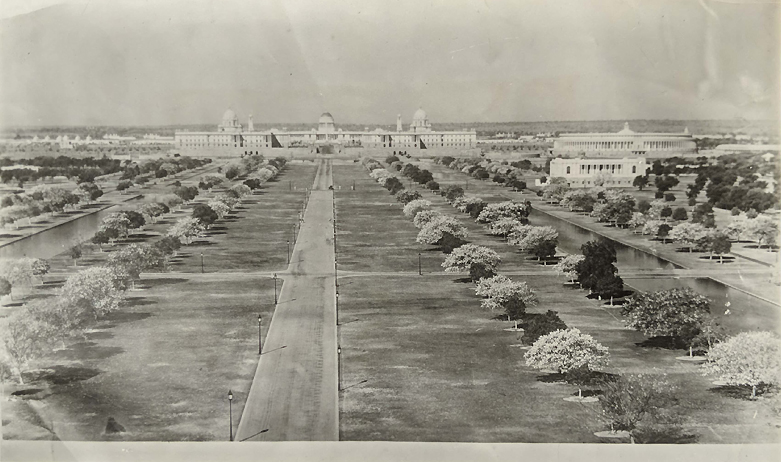 Vintage Photo Government House New Delhi 1933
