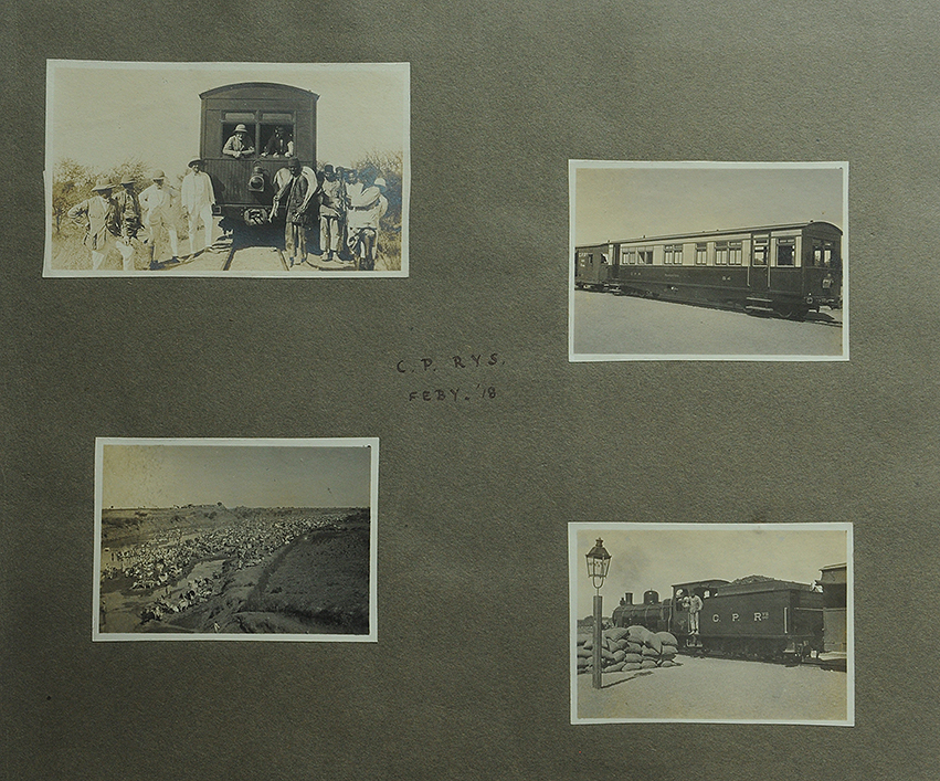 Antique Photos of Shakuntala Railway 1918