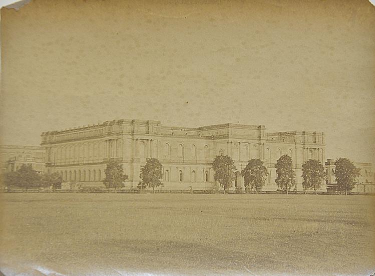 Old Photo - Indian Museum Kolkata 1865