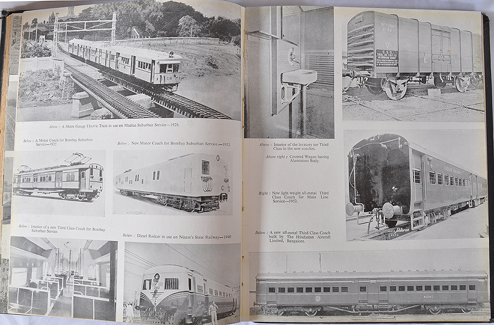 Indian Railways One Hundred Years – Old Book 1953