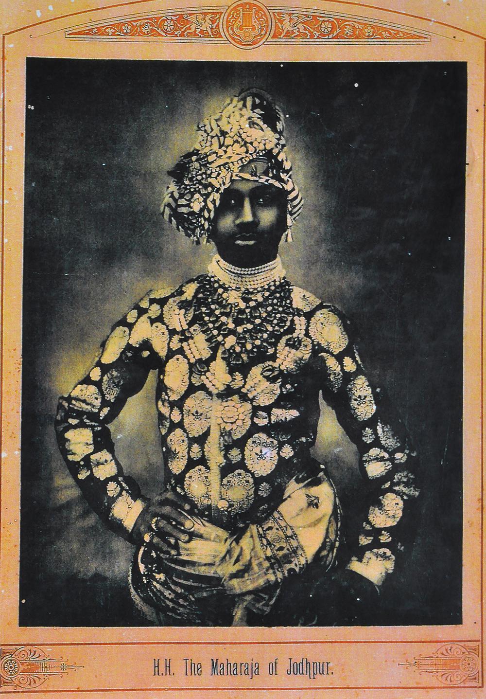 Maharaja of Jodhpur - Photogravure 1915