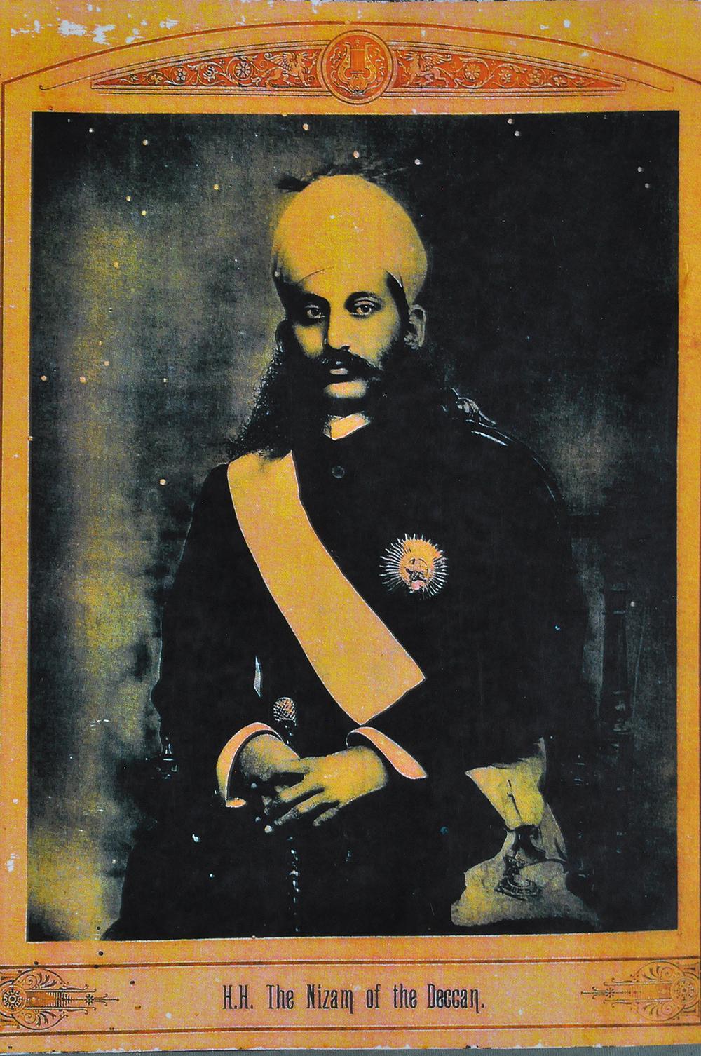 Nizam of Hyderabad VI - Photogravure 1915