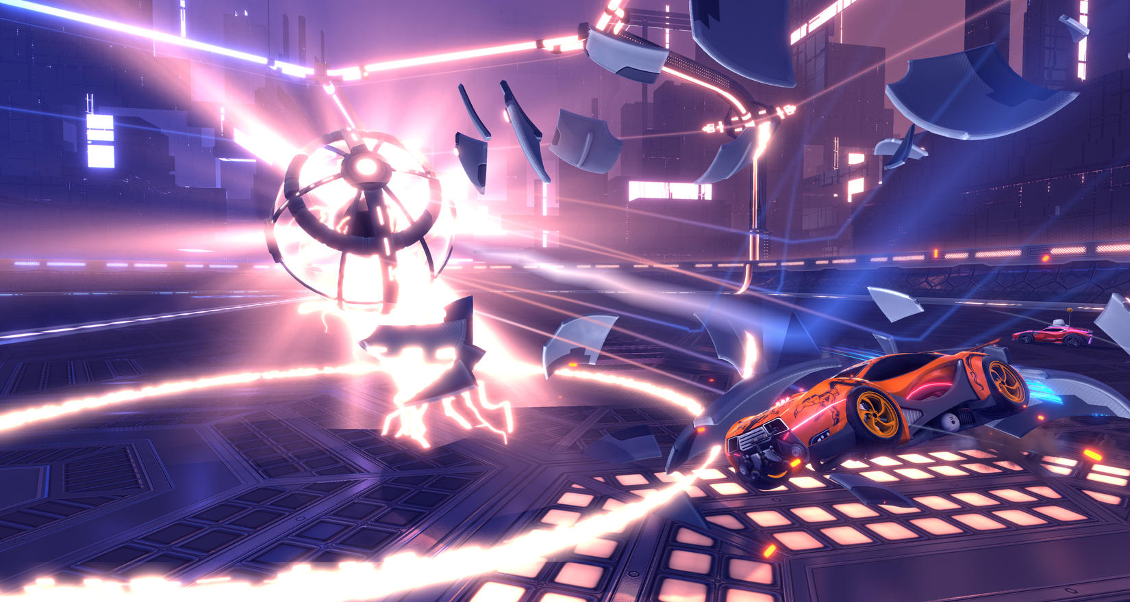 Update To Rocket League Adds New Dropshot Gameplay Variant