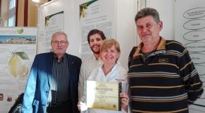 Prix Sloow Food Novembre 2015 à Menton
