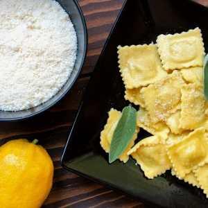 Les Raviolis au Citron de Menton
