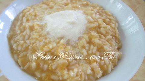 risotto crema di mozzarella e zuccz gialla2