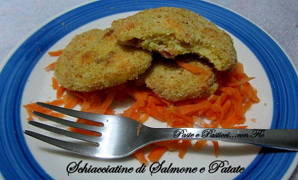 schiacciatine di salmone e patate1