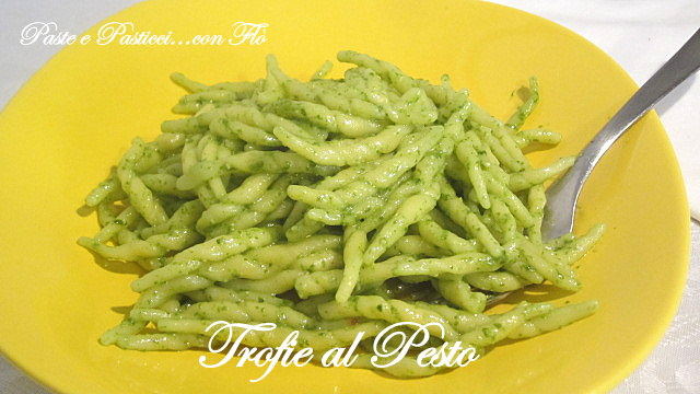 Trofie col Pesto