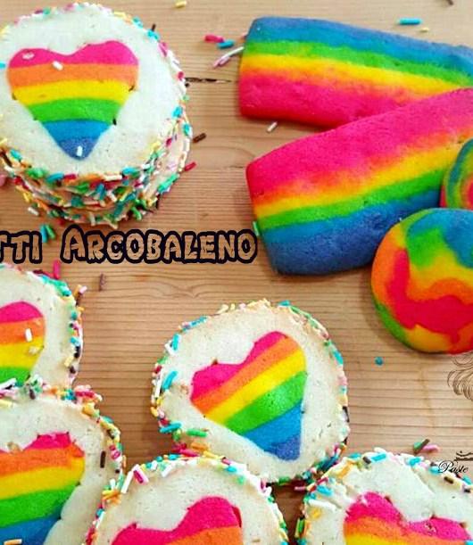 biscotti arcobaleno