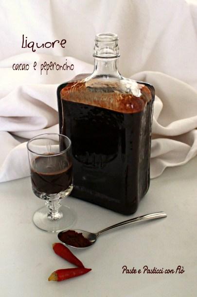 liquore cacao e peperoncino