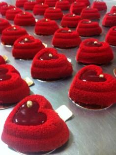 pastelitos San Valentin