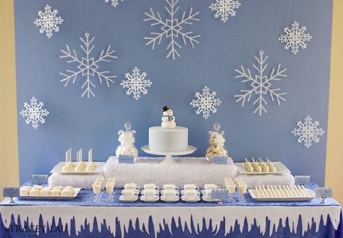 Snowman-Dessert-Table-Ideas-For-Christmas