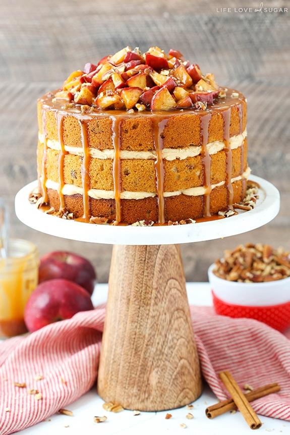pastel de otoño